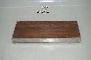 Wood/Alum. Board rect. 29319