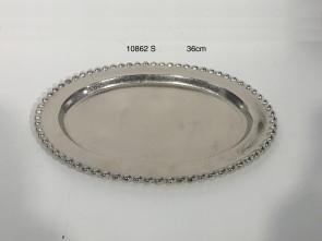 Round Plate - ball border
