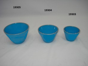 Bowl round set of 3
