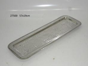 S/Steel rectangular tray