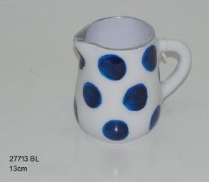 Milk Jug blue